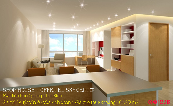 OFFICETEL TÂN BÌNH - SKY CENTER